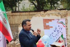 کلنگ زنی سه باب پروژه خیر ساز در شیراز