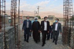 بازدید و سرکشی مدیرکل نوسازی،توسعه وتجهیز مدارس فارس از پروژه های شهرستان کوهچنار