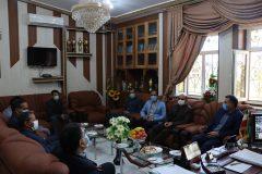 سفر مدیرکل نوسازی، توسعه و تجهیز مدارس فارس به شهرستان بوانات