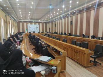 برگزاری جلسه با مشاوران امور زنان فرمانداری های شهرستانهای استان فارس