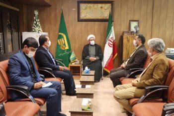 دیدار مدیر کل نوسازی مدارس فارس با مدیر نمایندگی شورای سیاستگذاری ائمه جمعه در فارس