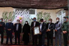 با حضورمعاون آموزش ابتدایی وزیر آموزش وپرورش ; افتتاح آموزشگاه خیرساز زنده یاد کنعانی وند شیراز